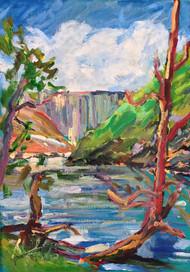 Below Moogerah Dam I: Reynolds Creek Gorge
