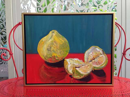 Reflective Pomelos. Framed