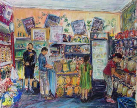 Mick's Nuts Shop Interior