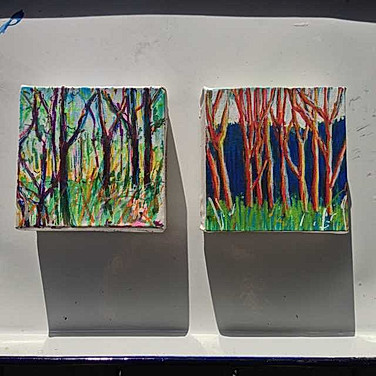 4x4 inch Treescape: Forest in Miniature