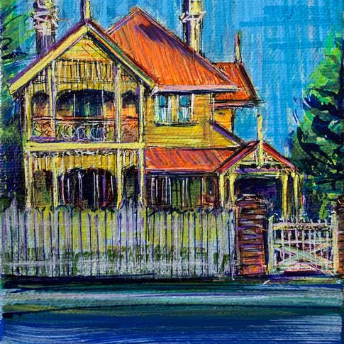 House Portrait: Nassagaweya West End by Kelly Southee