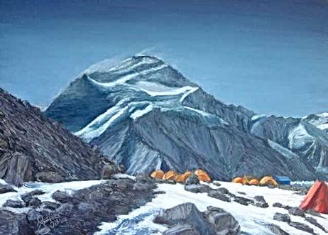 Cho Oyu Base Camp, Tibet