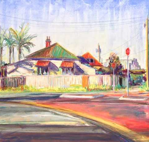 Streetscape from Our Places exhibition