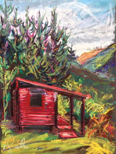 Dad's Red Hut