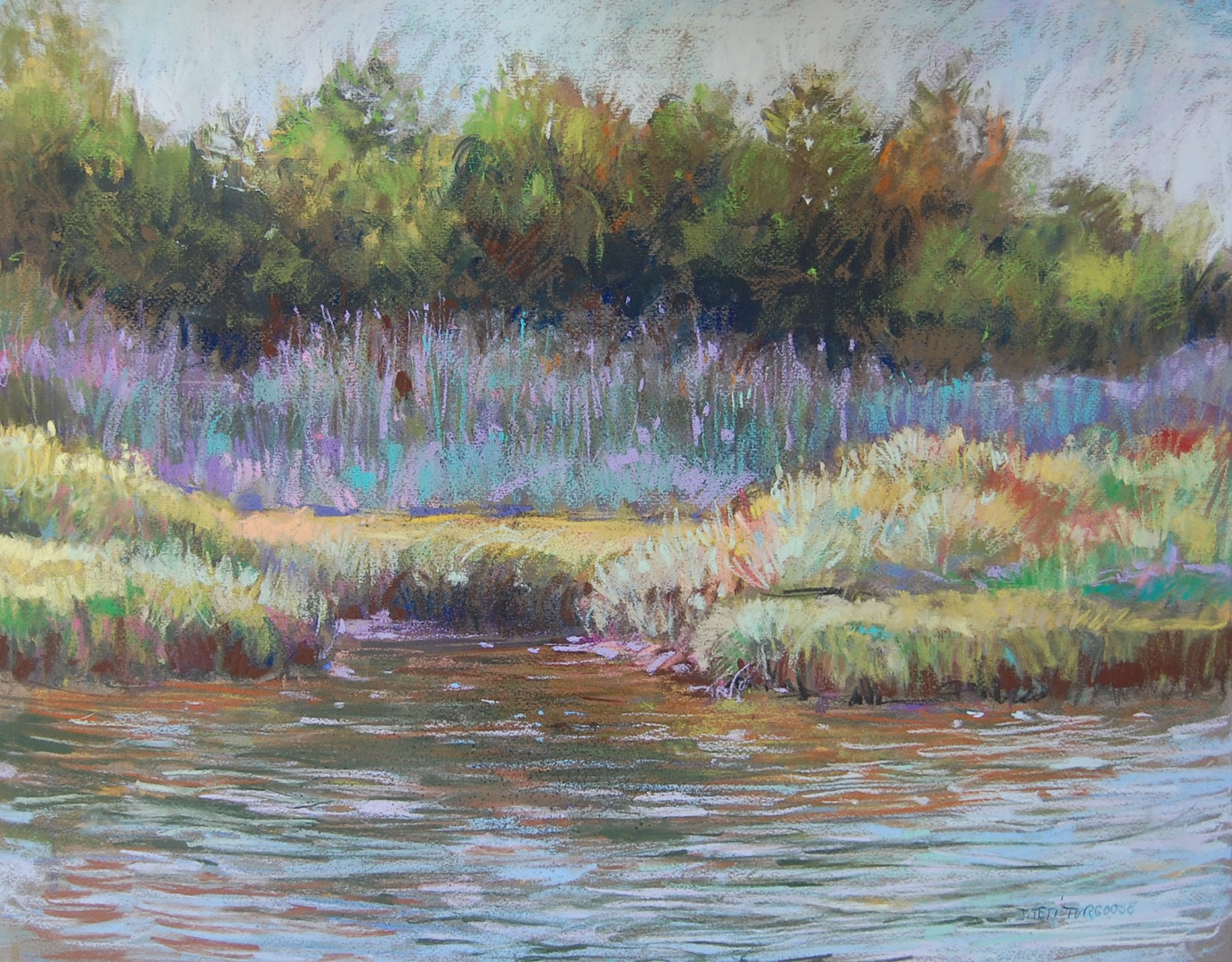 Waves of Color on the Connecticut River
