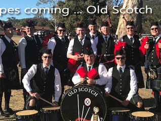 The pipers are calling