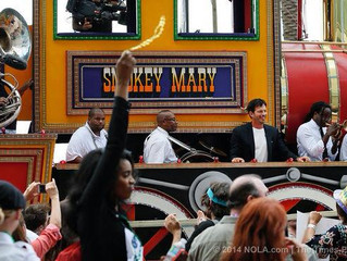 Calvin along with Harry Connick Jr. welcoming another season of American Idol to New Orleans