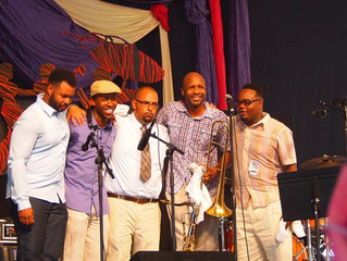 Calvin Johnson and Native Son light up NOLA Jazz Fest 2014