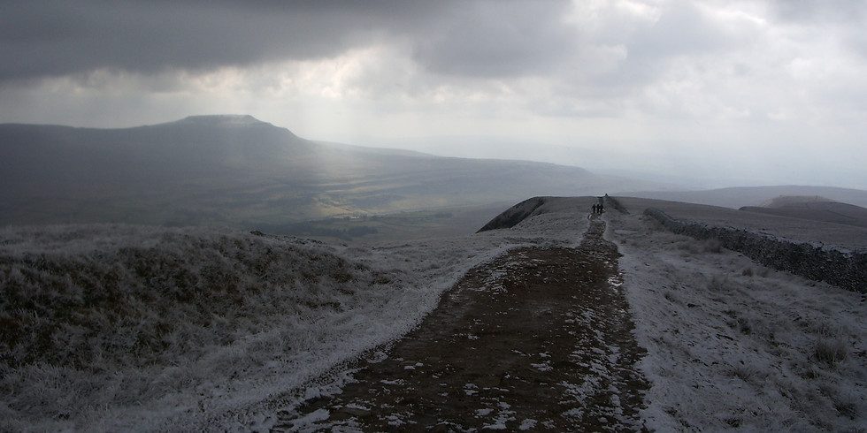 New Year's Day Walk - Ingleborough in the Yorkshire Dales