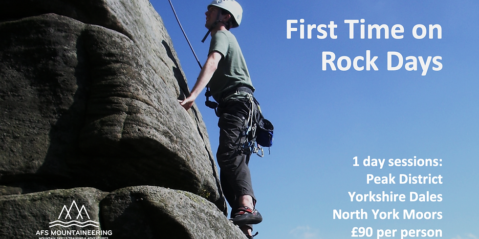 First Time on Rock 3rd June 2021