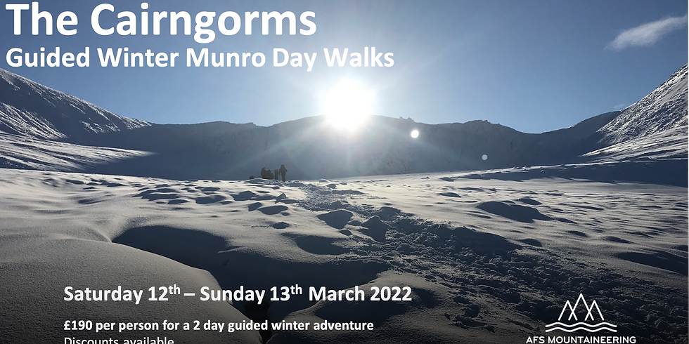 The Cairngorms in Winter 2022