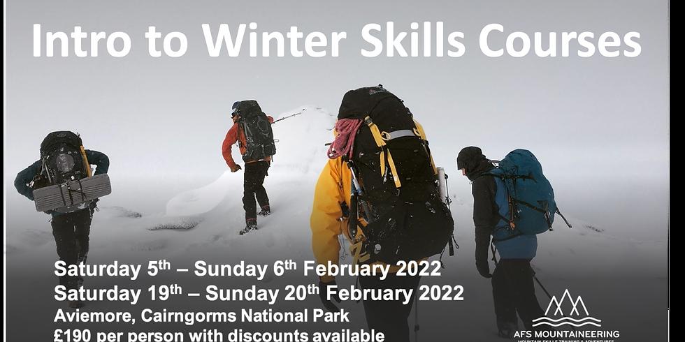 Winter Skills Course - 19-20th February 2022