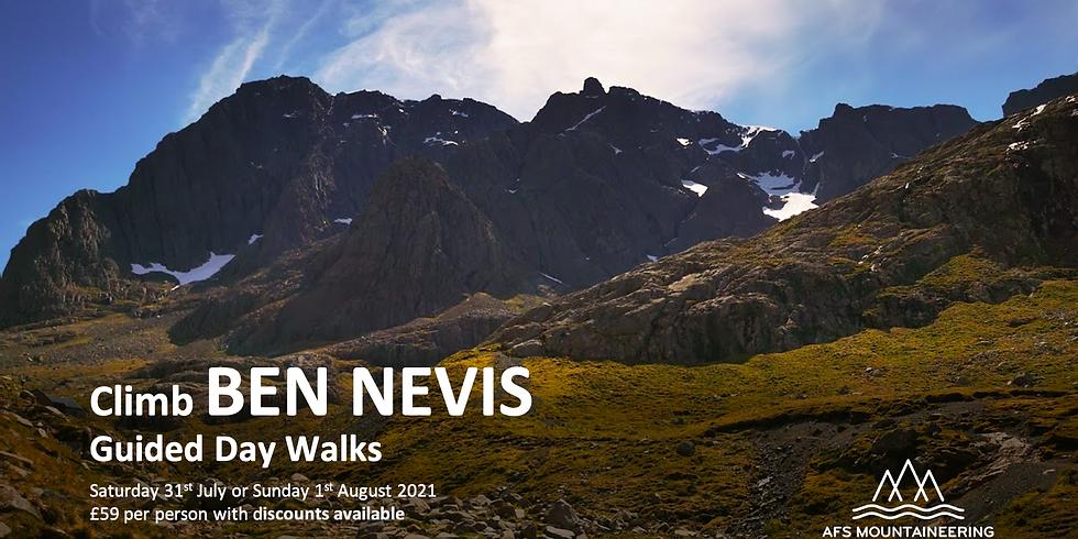 Ben Nevis 31st July 2021