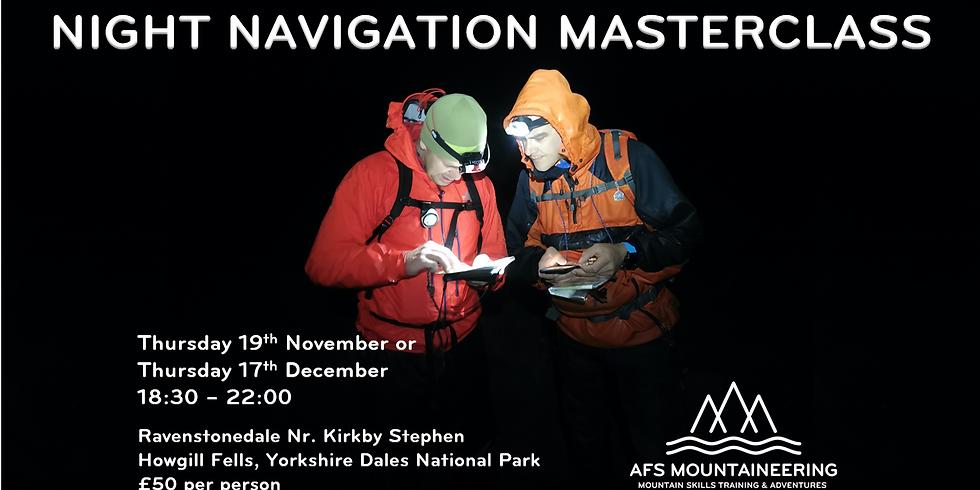 Howgill Fells Night Navigation Masterclass