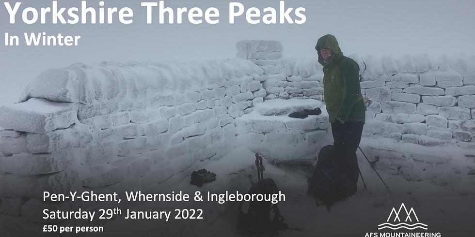 Yorkshire Three Peaks in Winter