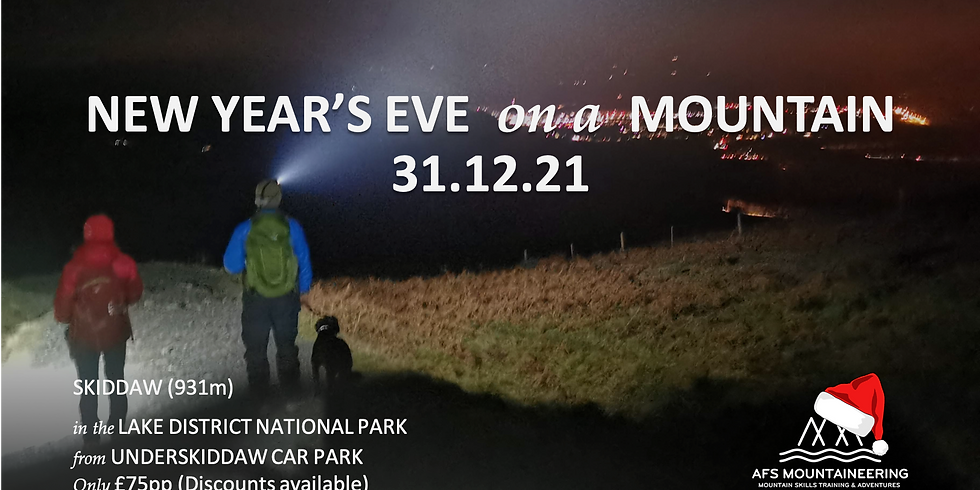 New Year's Eve on Skiddaw 2021-2022