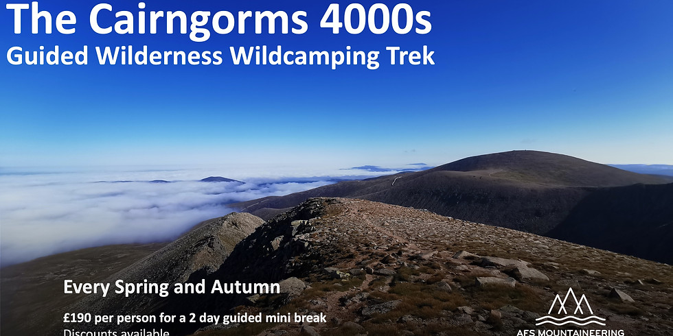 Cairngorms 4000s Wilderness Trek Spring 2022