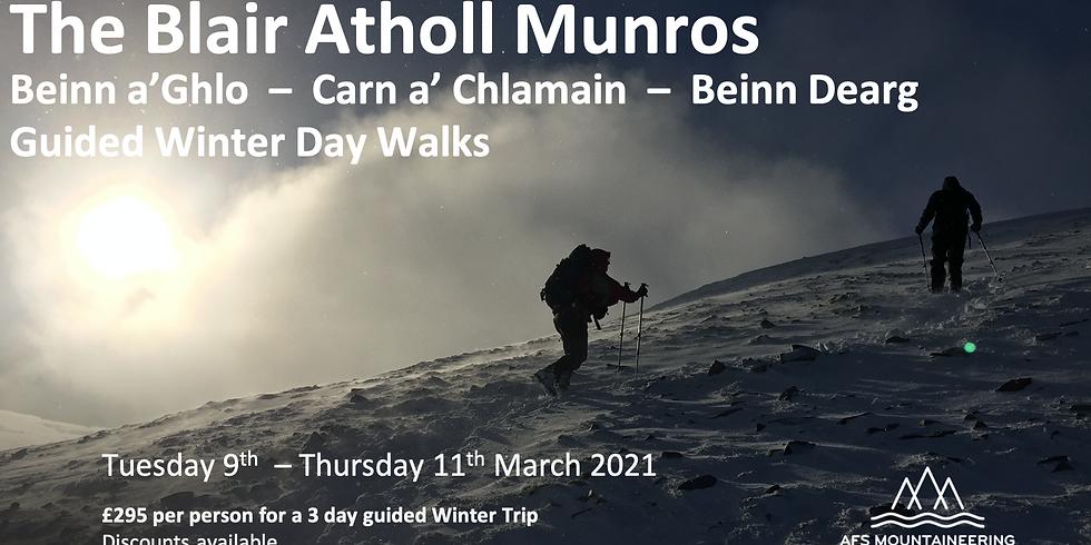 All 3 Days Beinn a'Ghlo & Blair Atholl Munros