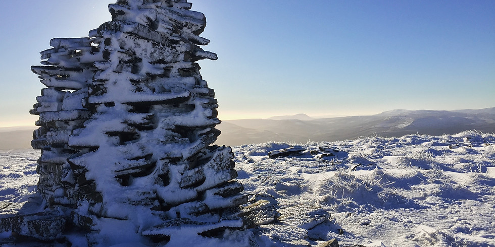 New Year's Day Walk - Great Shunner Fell & Lovely Seat from Hardraw