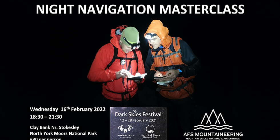 Moors Night Navigation Masterclass