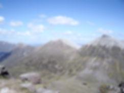 18 The next three Munros (L-R) Beinn a'