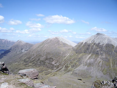18 The next three Munros (L-R) Beinn a'