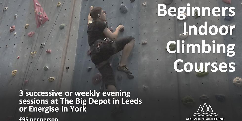 Intensive Indoor Beginners Climbing Course (2)