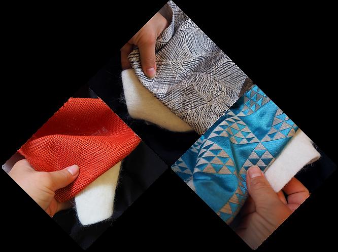 Tissu isolant de tenture murale : le mol