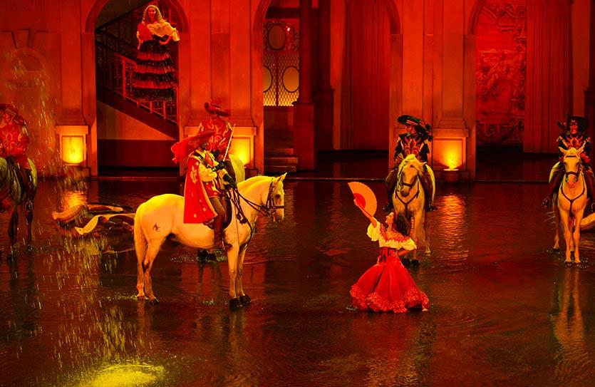 Les mousquetaires de Richelieu spectacle du Puy du Fou