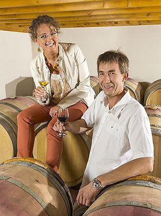 Armelle et Pascal, viticulteurs du Layon