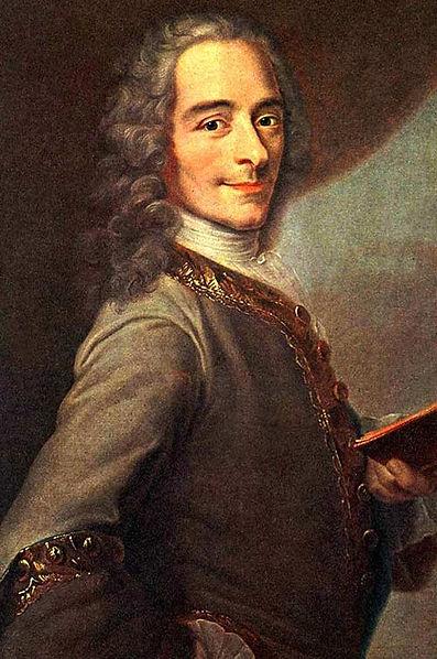 Peinture de Voltaire