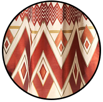 Doublure tissu identique