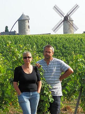 Anne et Hervé Bourreau