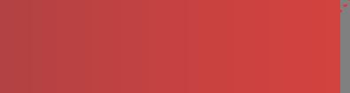 Elément décoratif rouge