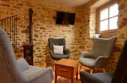Salon avec fauteuils