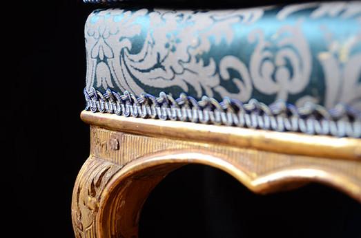 Fauteuil Louis XV restauré