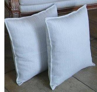 Coussins blancs sur-mesure