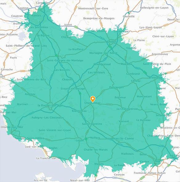 Carte tapissier en Vendée