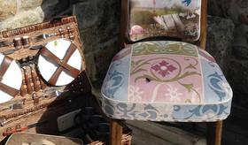 Tissu unique pour la tapisserie de siège