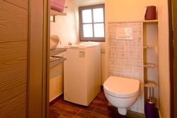 Lave-linge et wc