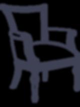 Fauteuil d'un tapissier décorateur