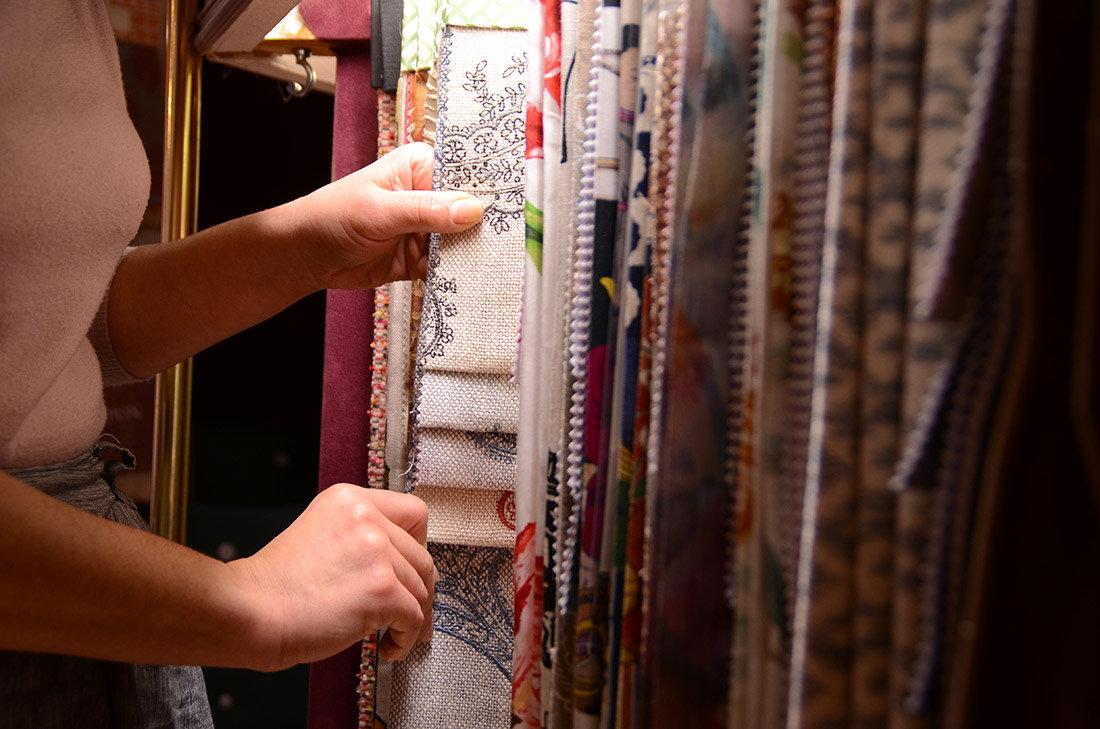 Choix de tissus de votre tapissier d'ame