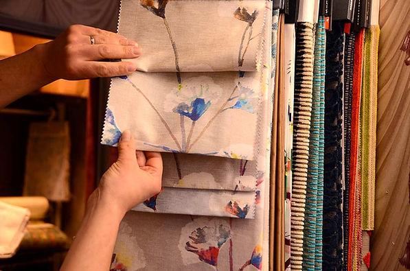 Tissus pour rideau sur-mesure