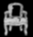 Fauteuil cabriolet Louis XV
