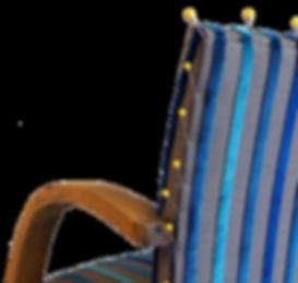 Tissu de grande marque pour fauteuil