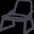 Fauteuil design moderne du 20e siecle