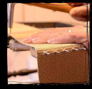 Restauration de fauteuil ancien : le san