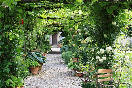 Les jardins du logis de Chaligny