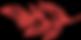 Feuilles rouges