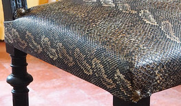 Assise d'une chaise Henri II